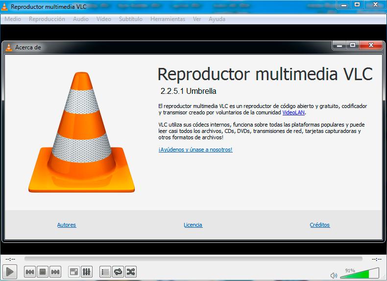 VLC 2.2.5.1 Umbrella