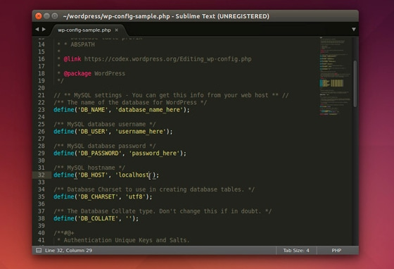 sublime text 3 ubuntu interfaz