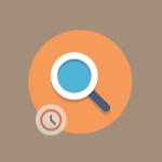 buscar archivos por fecha icono