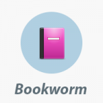 Bookworm ebook icono