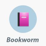 Bookworm ebook icono