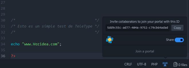 TeleType Atom GitHub