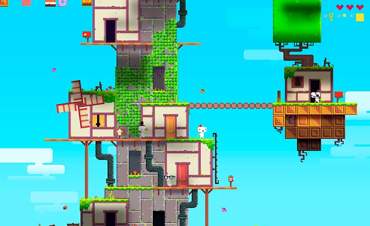 FEZ juego indie
