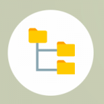 arbol de directorios icono