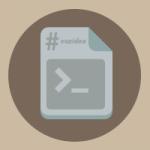 comando linux icono