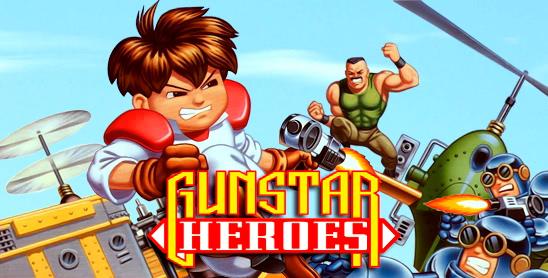 Gunstar Heroes de SEGA Megadrive