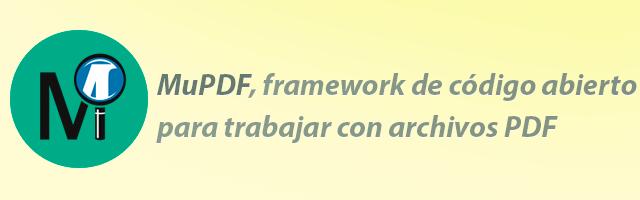MuPDF framework