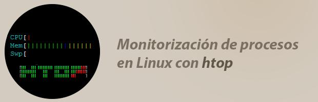 htop monitorizacion de procesos en linux