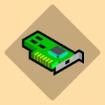 adpatador de red icono