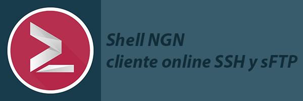 shell ngn cliente ssh sftp online