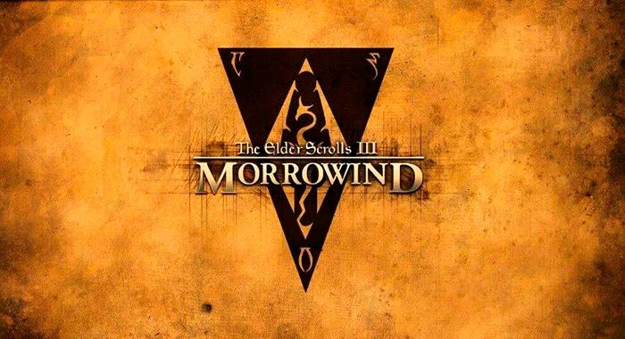 elder scrolls 3 morrowind logo