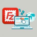 filezilla incluye publicidad icono