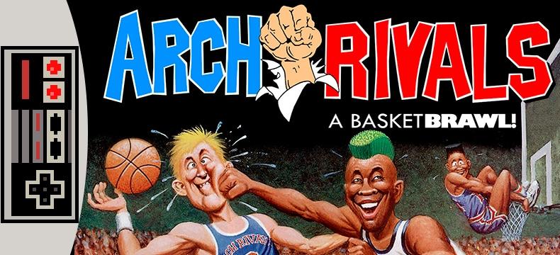 Arch Rivals, baloncesto con mamporros en la NES