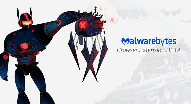 Extensión de Malwarebytes para navegadores