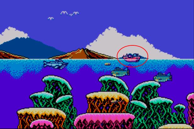 submarine attack barco potenciador