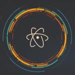 atom logo editor de texto