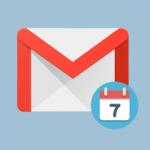 gmail fecha icono