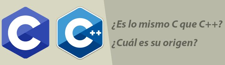 Es lo mismo C que C++