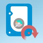 recuperar datos disco duro icono