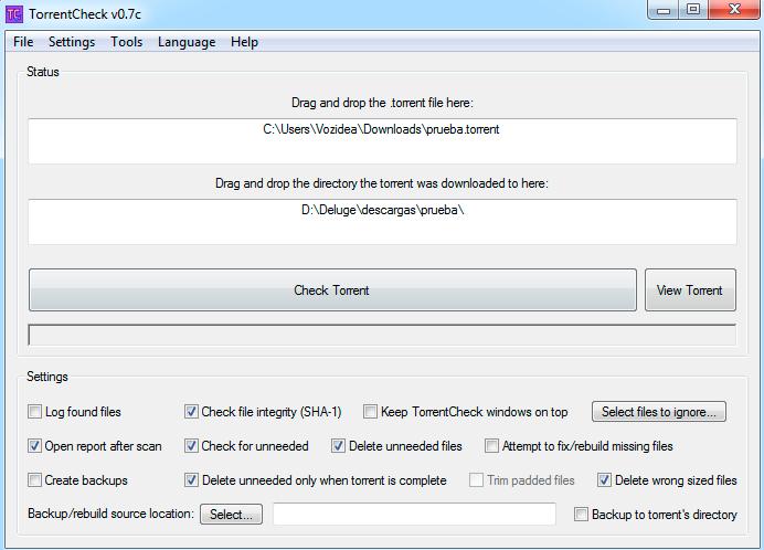 TorrentCheck verificar torrent