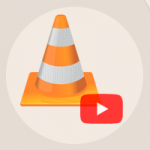 vlc youtube icono